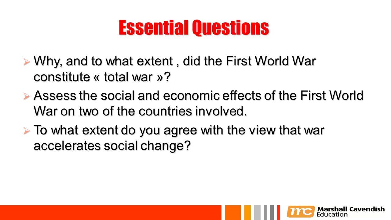 social effects of ww1
