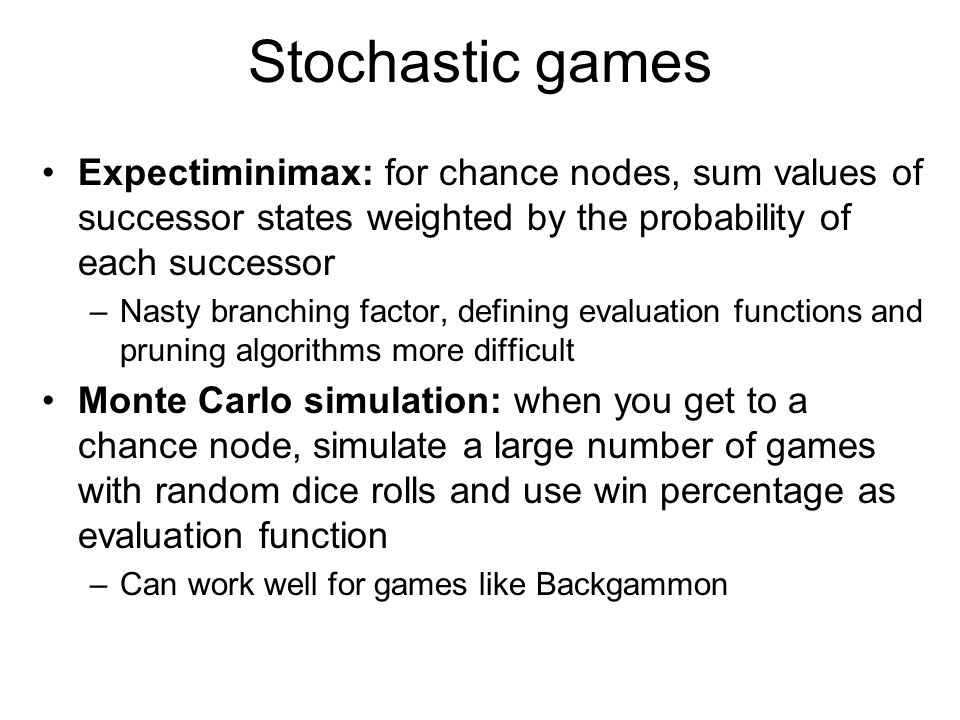 Games and adversarial search (Chapter 5) - ppt video online