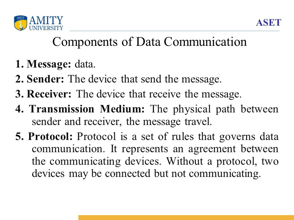 Introduction to Data Communication - ppt download