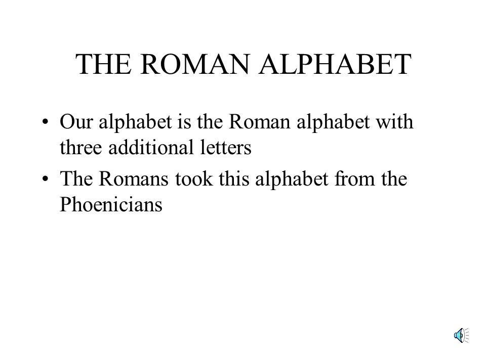 PRONUNCIATION RULES FOR LATIN ppt video online