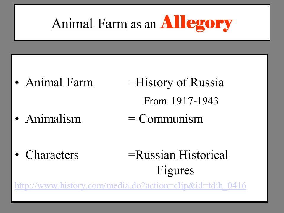 Political Allegory In Animal Farm Custom Paper Sample