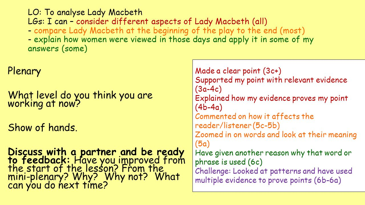 analyse macbeth