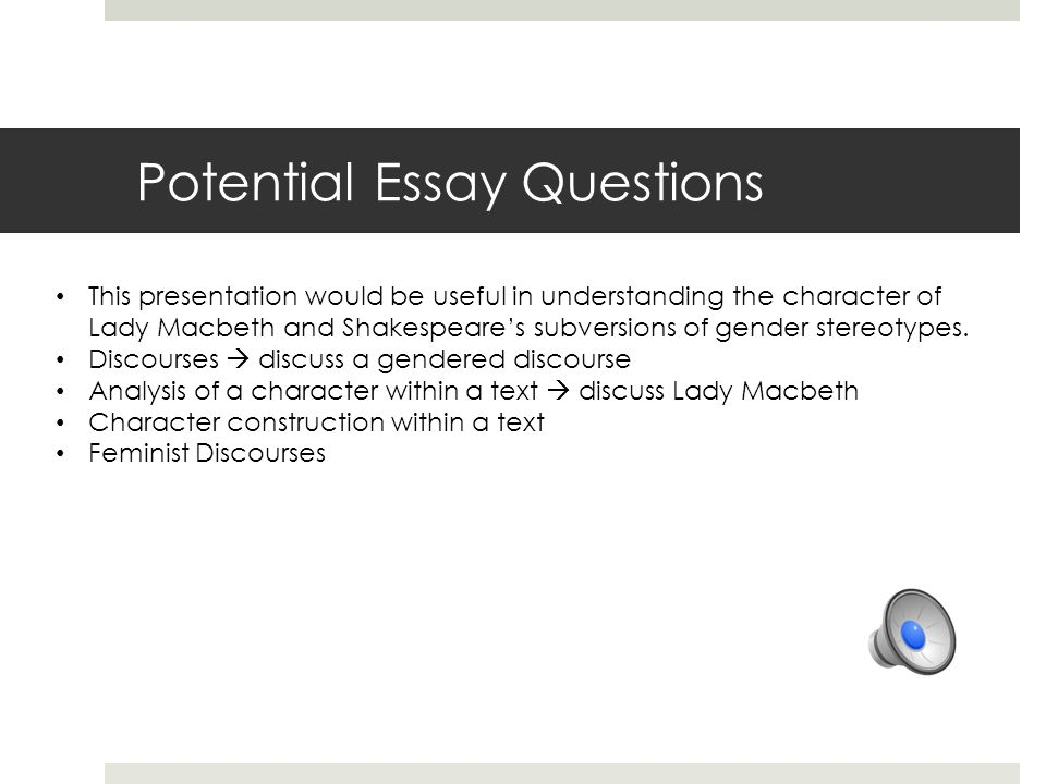 Character Analysis By Bailey Hughes  Ppt Download Potential Essay Questions