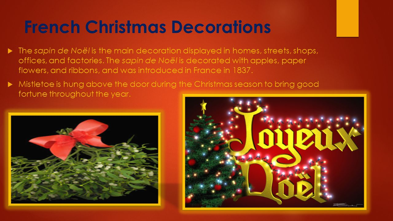 french christmas decorations - France Christmas