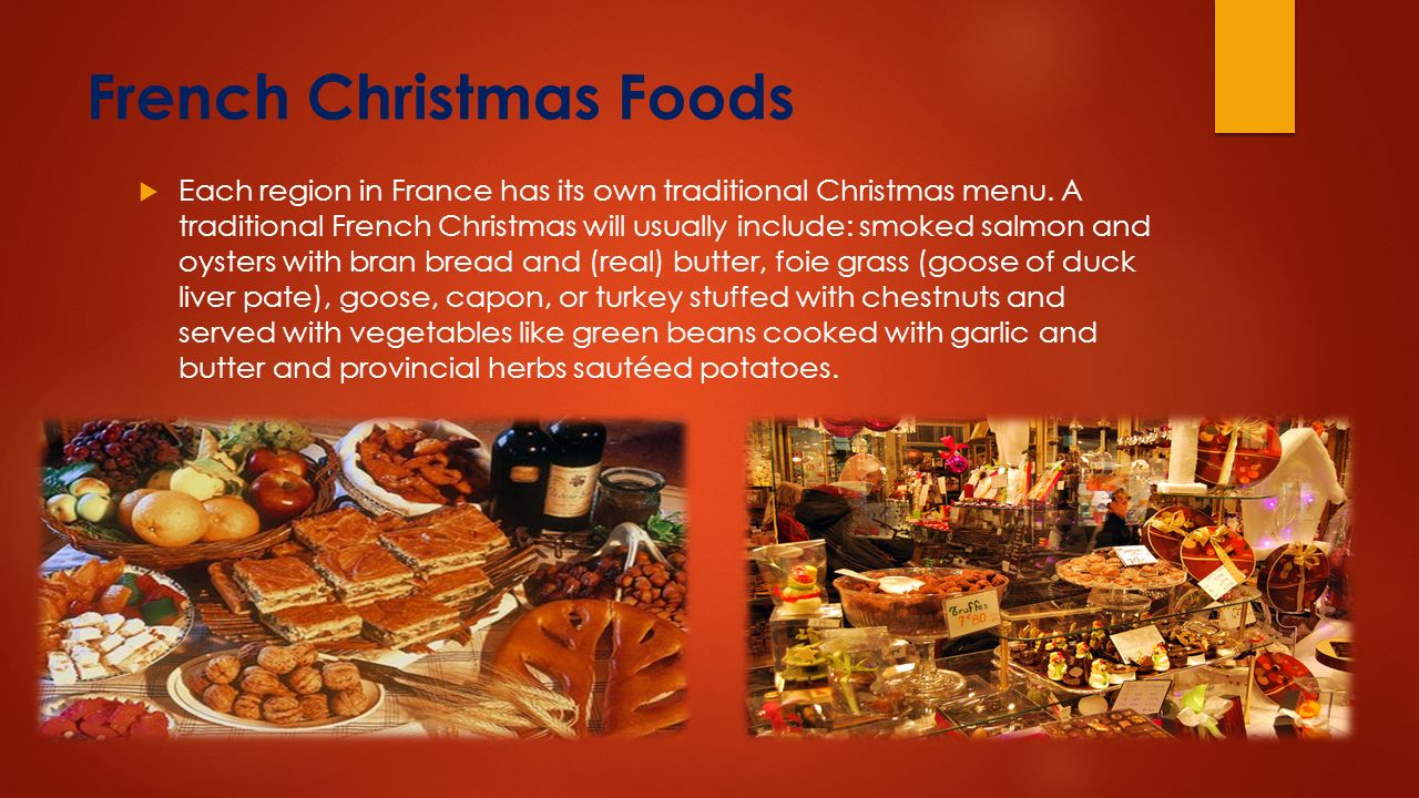Christmas In France Tradition.How French People Celebrate Christmas Ppt Video Online