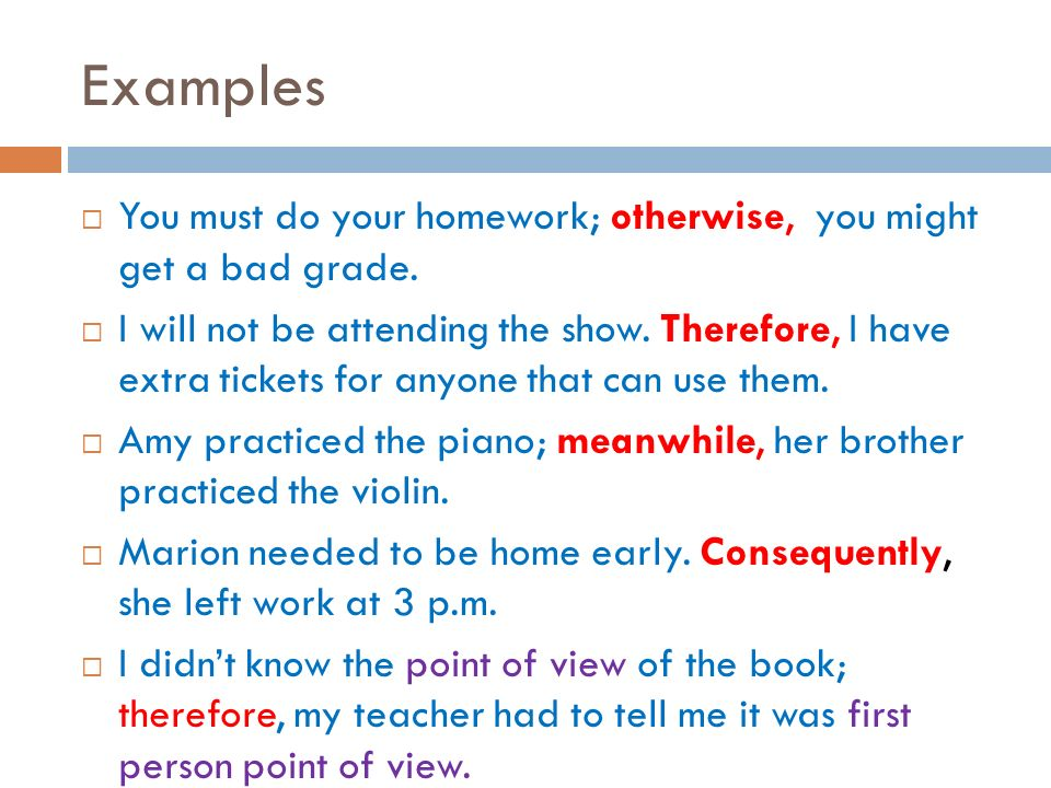 Example Of Conjunctive Adverb Sentence Gallery Example Cover