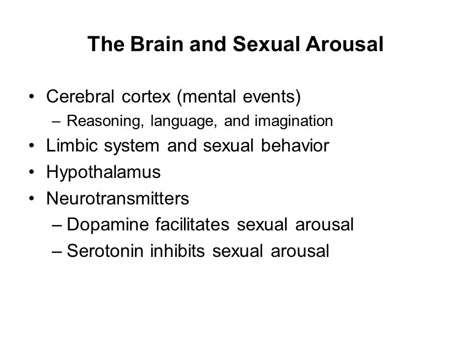 Sexual arousal images