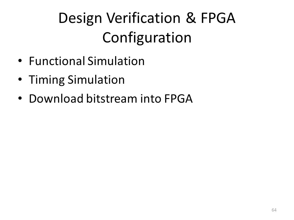 Fpga Based System Design Ppt