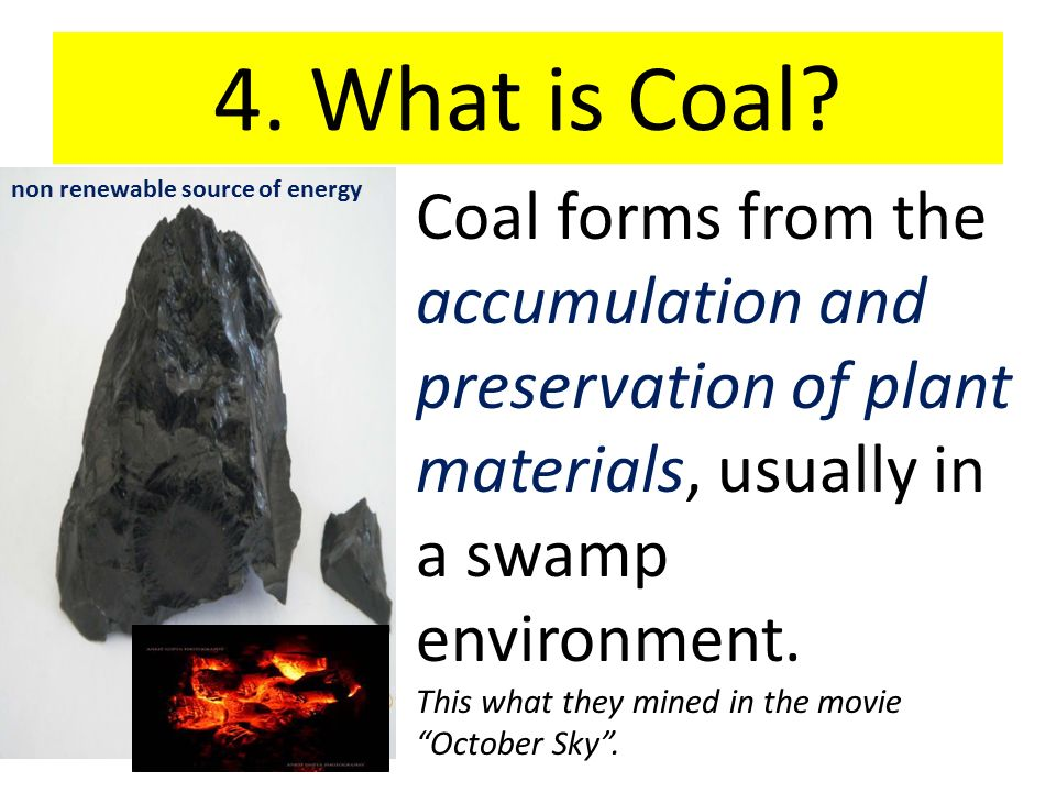 why is coal nonrenewable