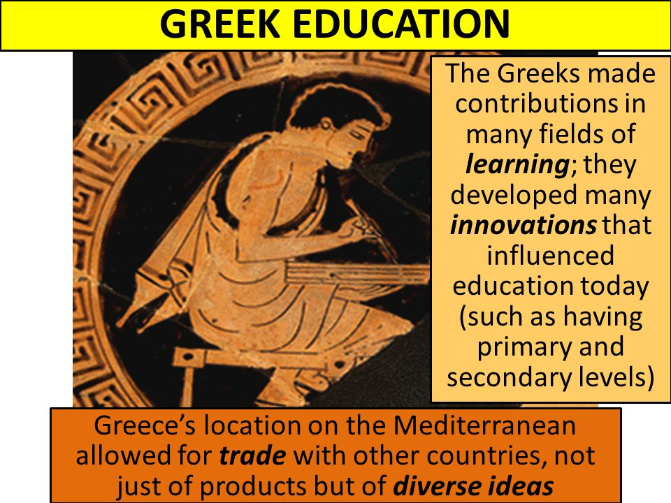 ancient greek education system