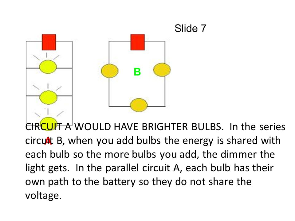 how to make a circuit with light bulb