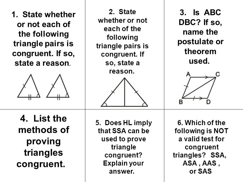 Focus How Can We Prove Triangles Congruent Ppt Video Online