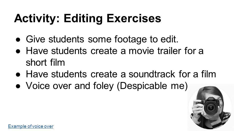 Filmmaking for Teachers - ppt video online download