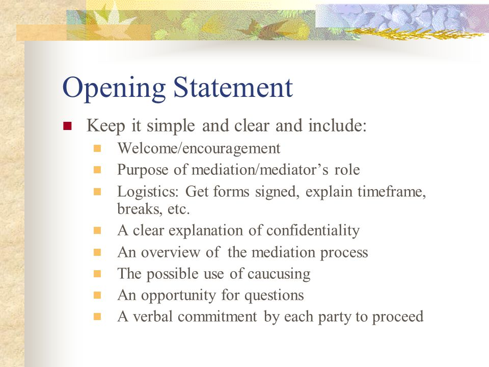 The Mediation Process  - ppt video online download
