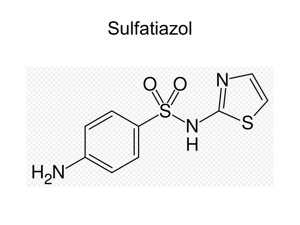 Sulfonamide Sulfonamide drugs were the first antimicrobial