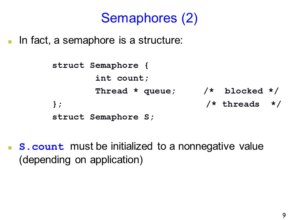 Synchronizing Threads with Semaphores - ppt download