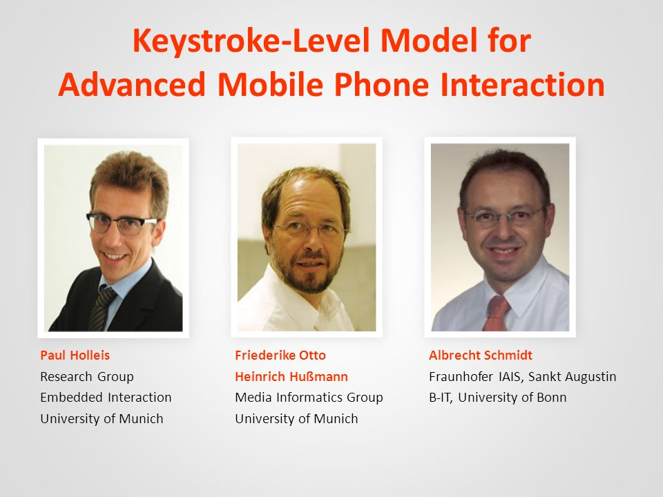 Keystroke-Level Model for Advanced Mobile Phone Interaction