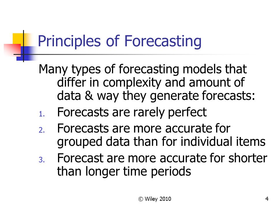 Chapter II - Forecasting - ppt video online download