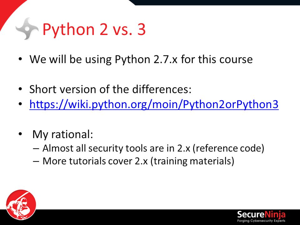 python 2 7 vs 3