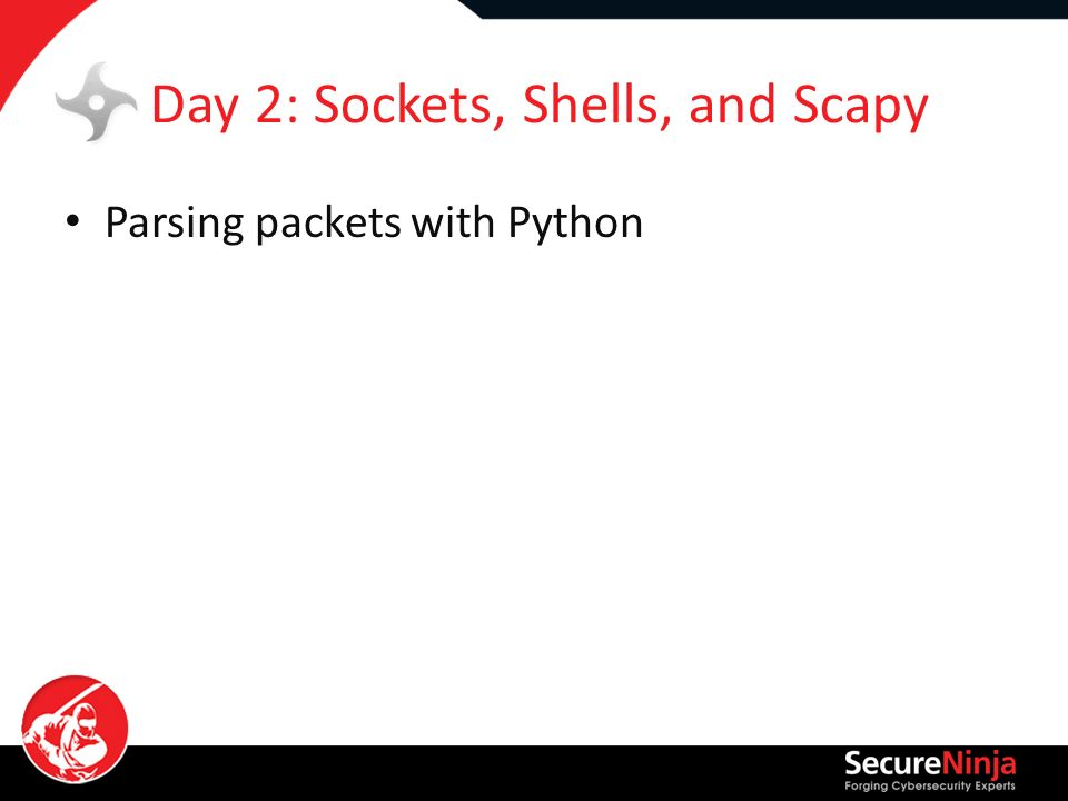 Python 2014 Python For IT Security Professionals By: Joe McCray