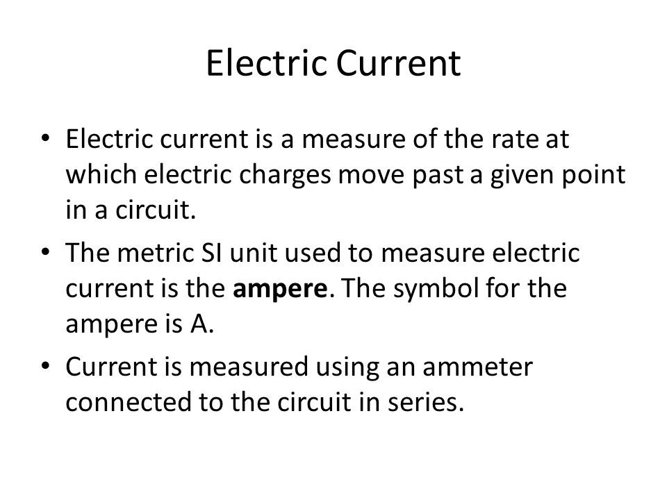 Electric Current Resistance And Ohms Law Ppt Download