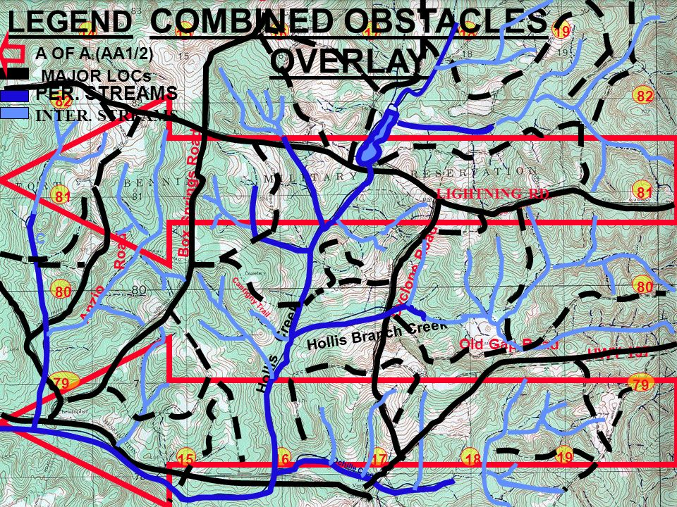 Army Map Overlay Powerpoint