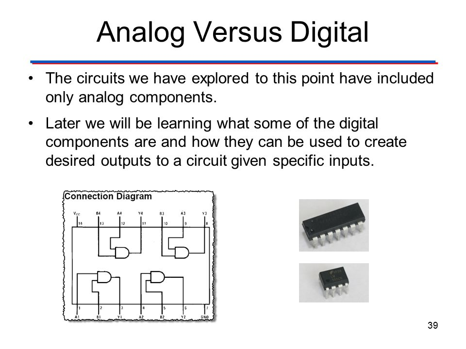 Basic Digital Circuit Components Wiring Diagram Electricity