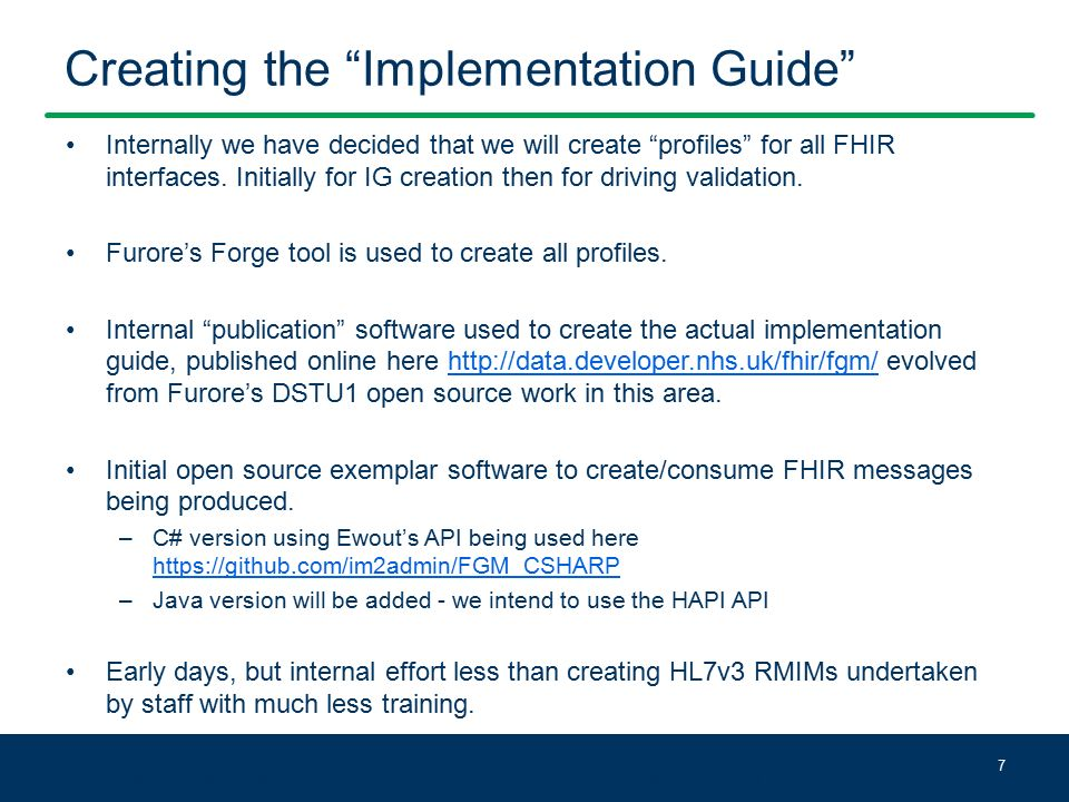 HSCIC – The journey on adopting FHIR - ppt download
