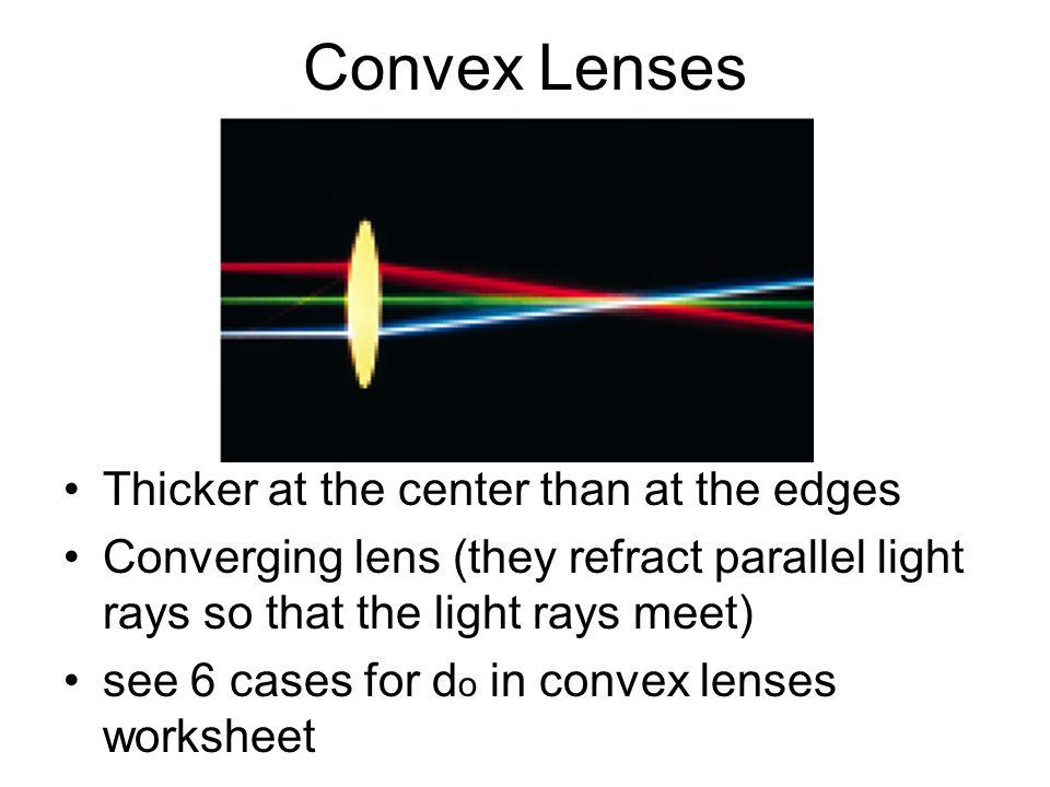 Chapter 18-2 Lenses. - ppt download