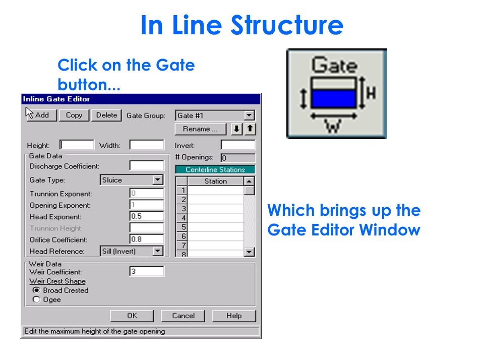 Modeling Inline Structures using HEC-RAS Version ppt video online
