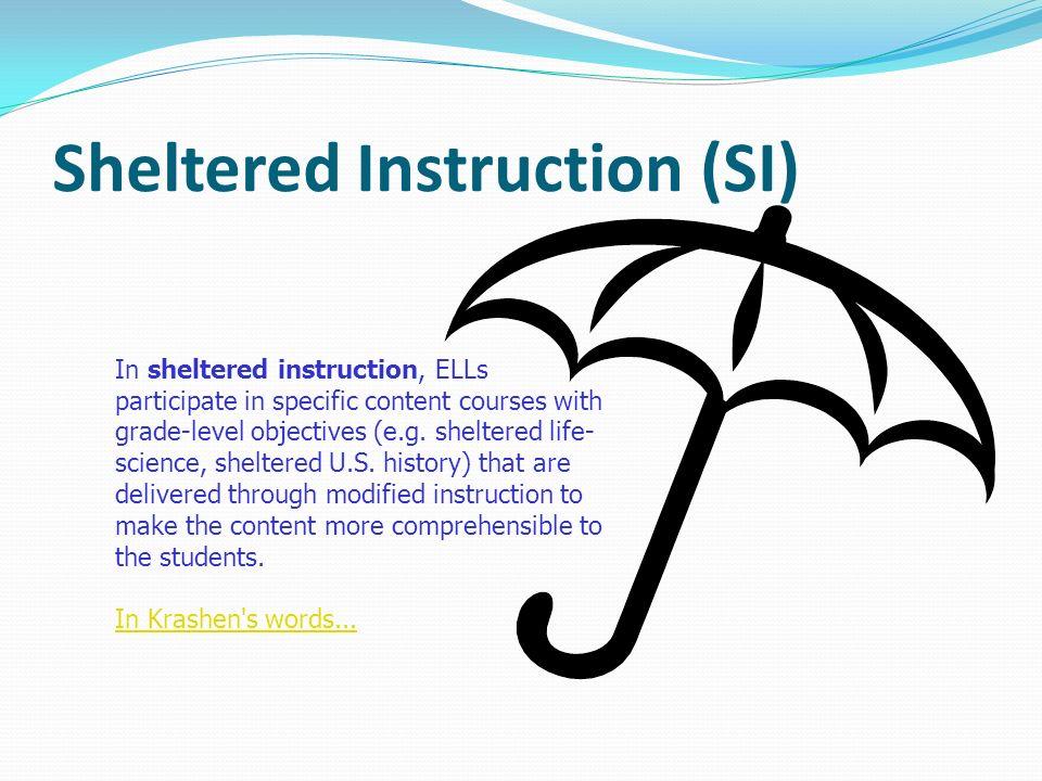 Sheltered Instruction Observation Protocol Professional Development