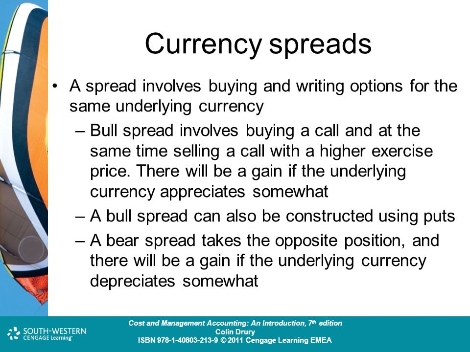 Currency spreads