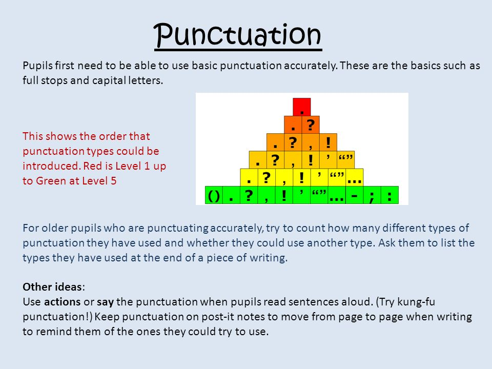 punctuation and its uses pdf