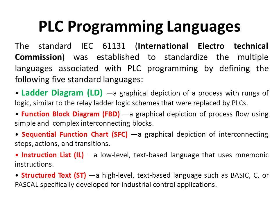 PLC PROGRAMMING  - ppt download