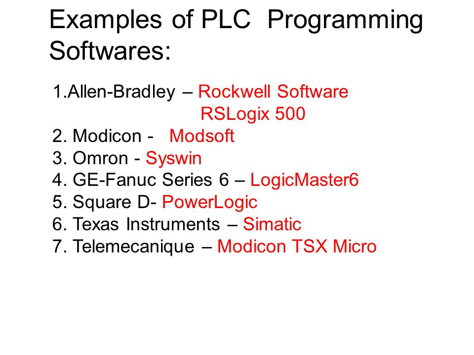PLC PROGRAMMING  - ppt download