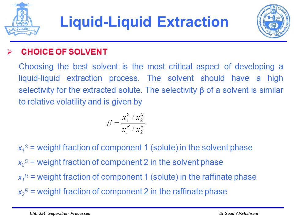 Liquid Liquid Extraction Ppt Download