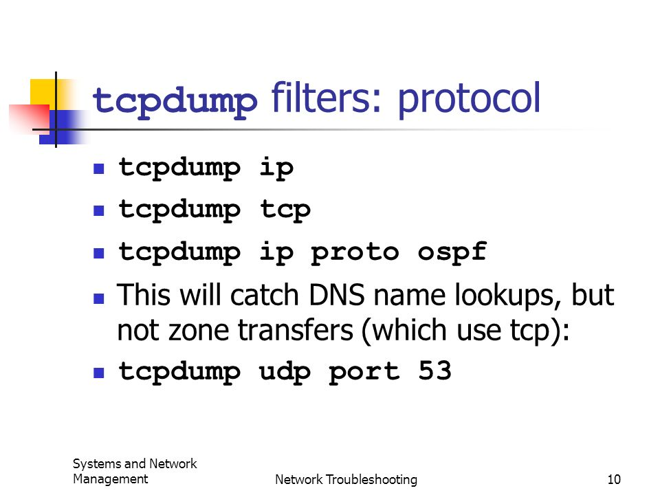 Sniffer, tcpdump, Ethereal, ntop - ppt video online download