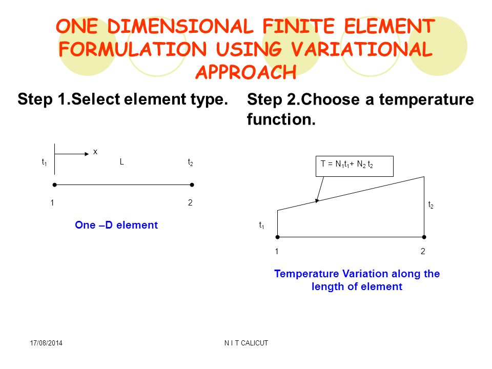 HEAT TRANSFER FINITE ELEMENT FORMULATION - ppt video online