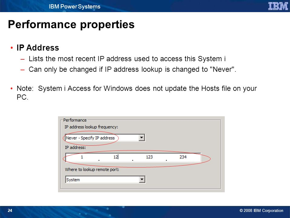 System i Access for Windows: Security and Communications Tips - ppt
