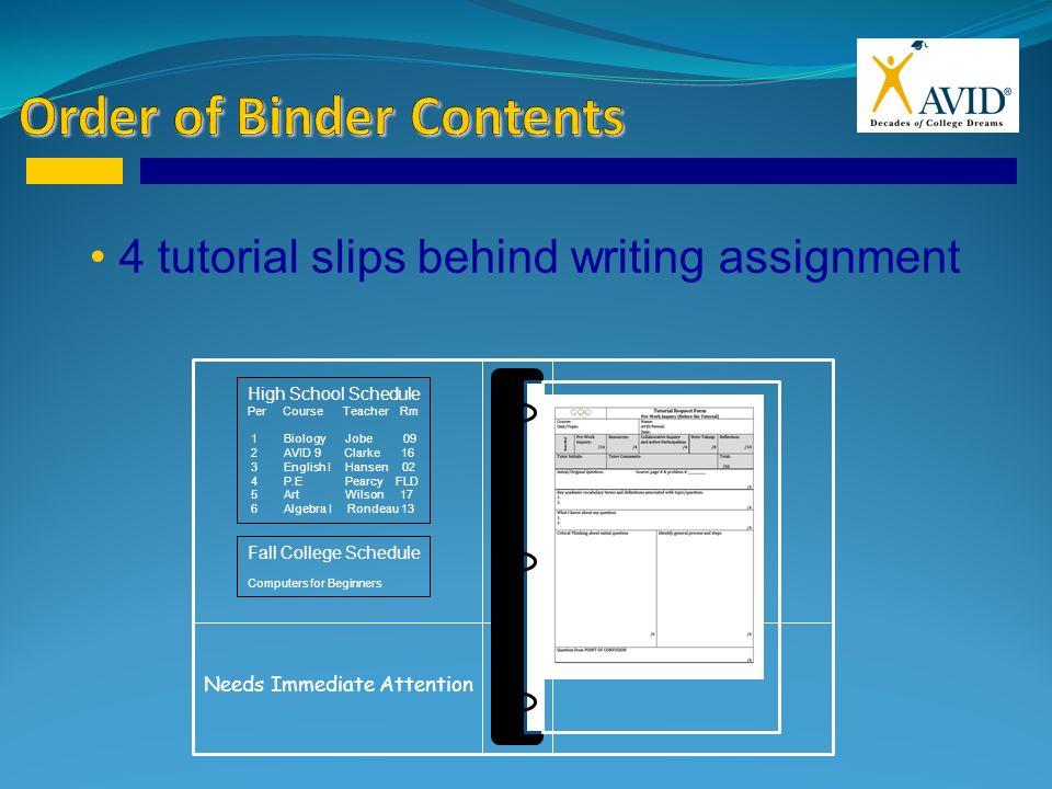 Organizing Your Binder - ppt video online download