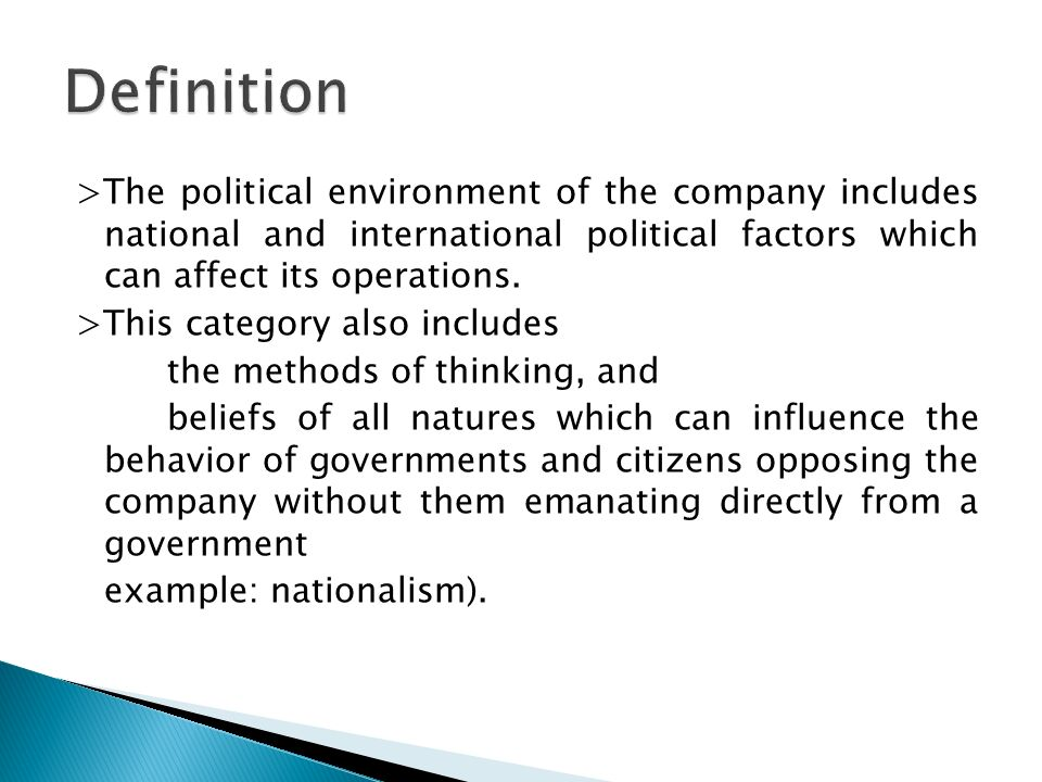 tesco environmental factors