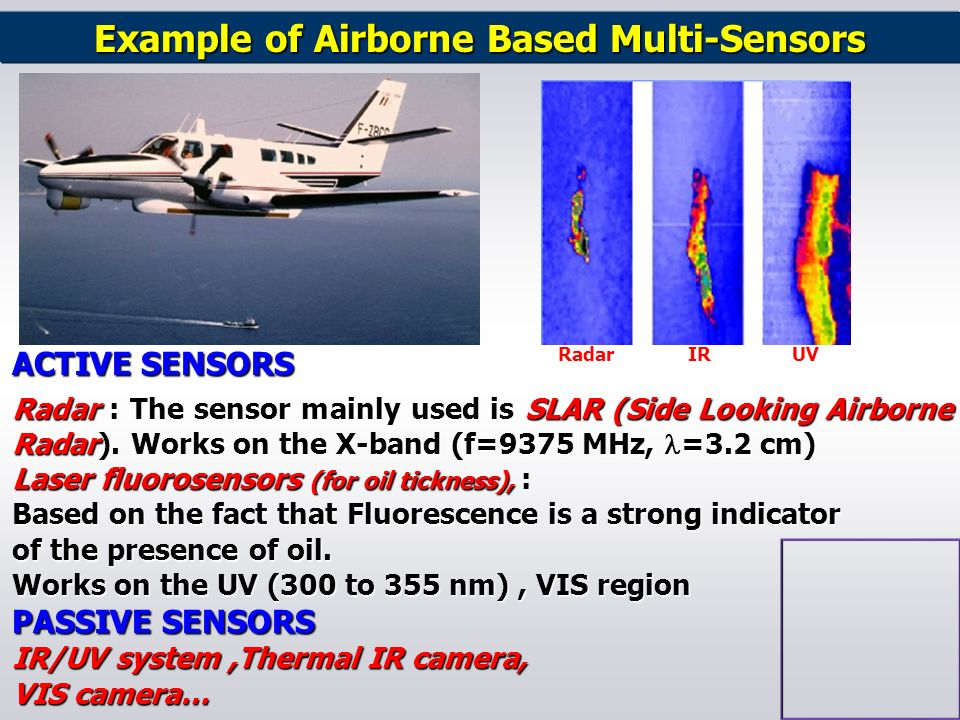 Example of Airborne Based Multi-Sensors