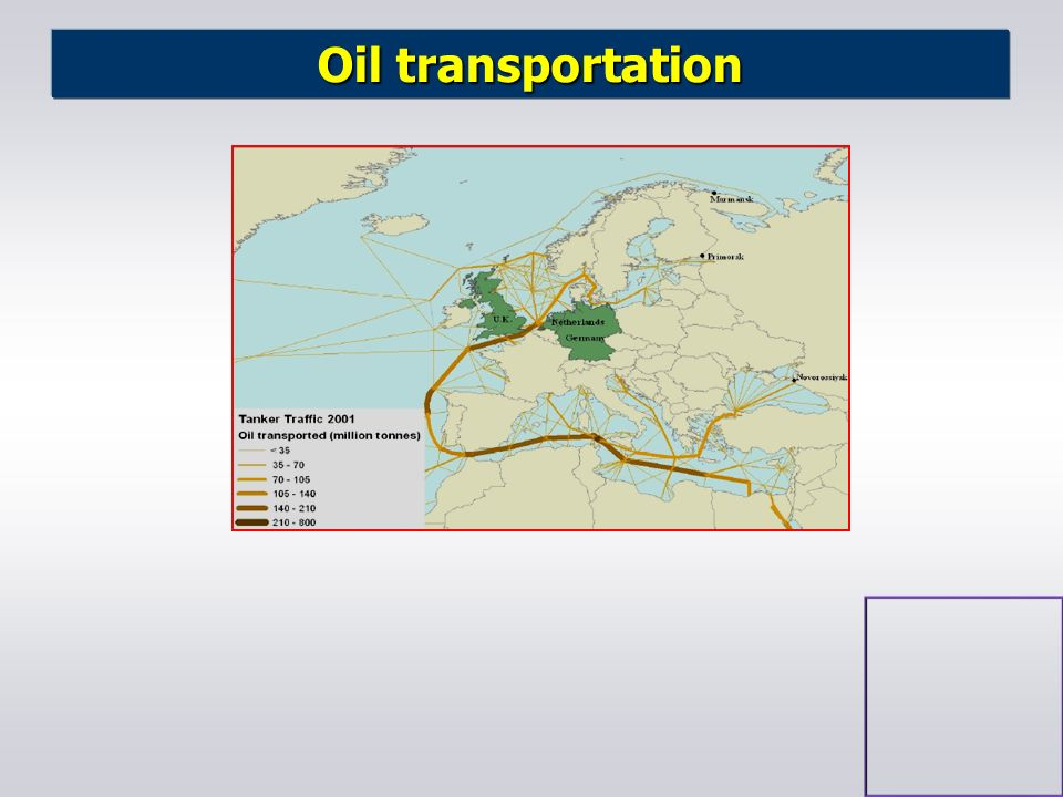 Oil transportation nes