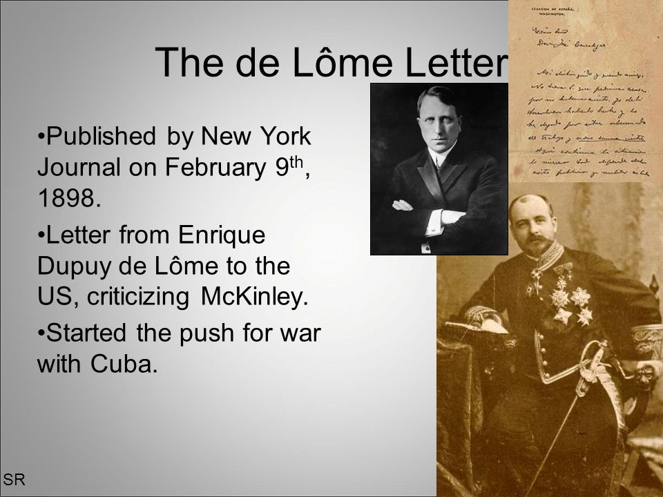 de lome letter the american war ppt 4351