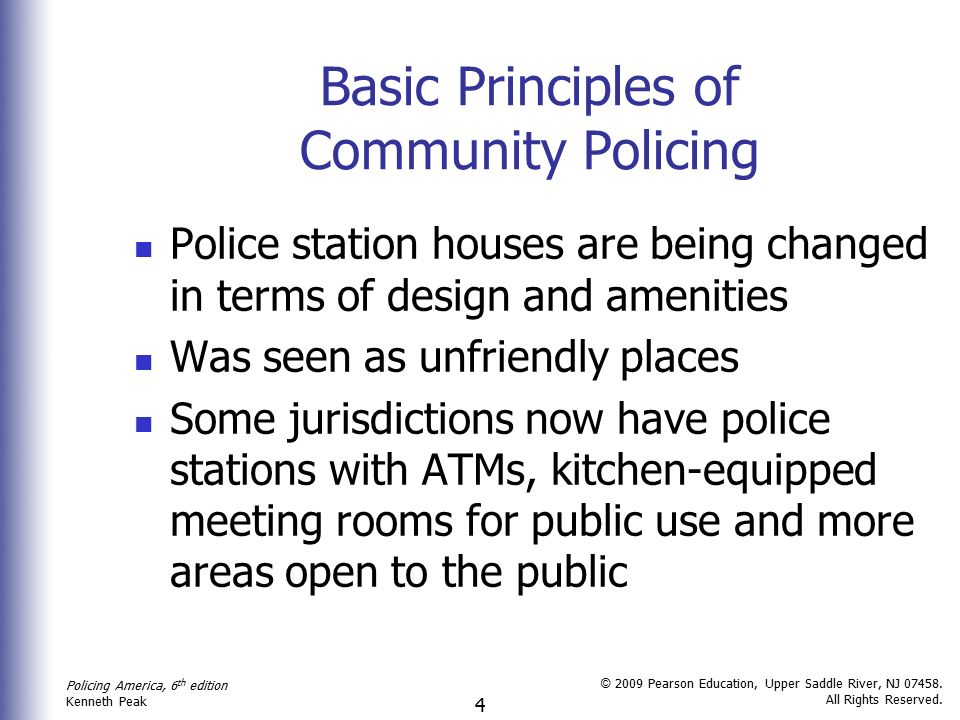 a fundamental problem of community-oriented policing and problem solving (copps) is that