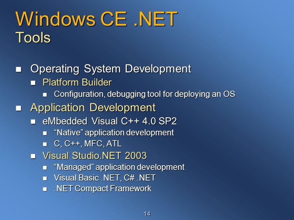 Windows CE Development - ppt video online download
