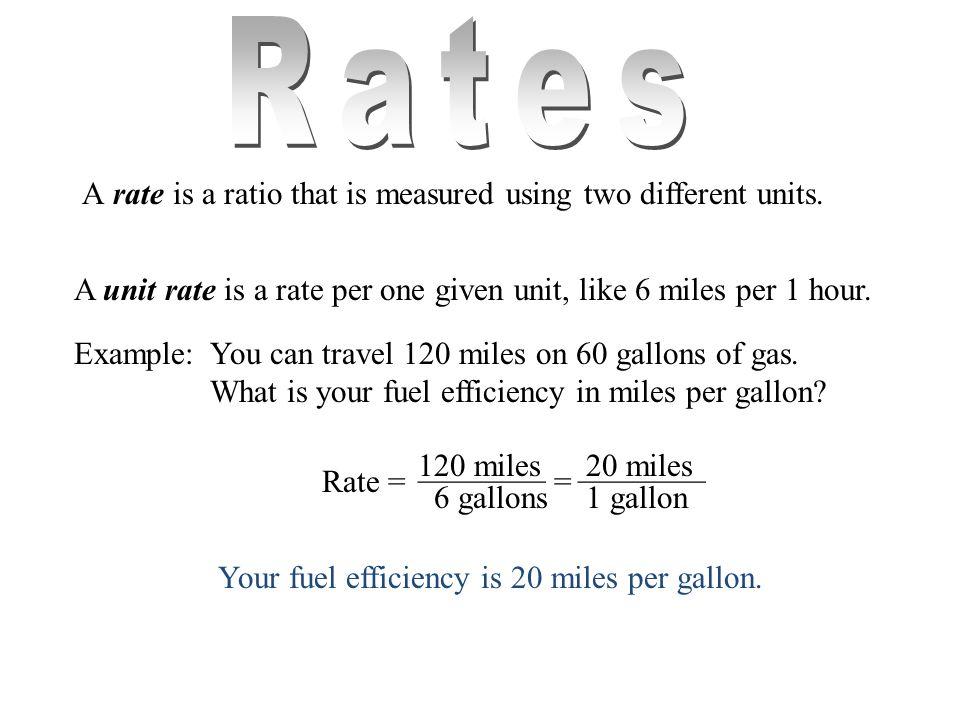 4 Rates