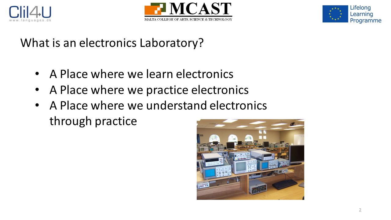 Introduction to the Electronics Laboratory - ppt download