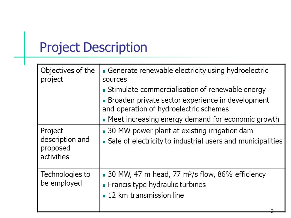 88d65e6f0751c El Gallo Hydroelectricity Project PDD Analysis - ppt video online ...
