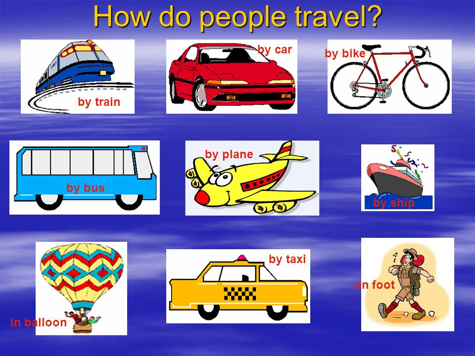 transport means of travelling ppt download